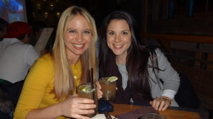 Miss Cheryl & Heather relaxing after a ski day!