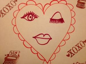 A winking heart:)